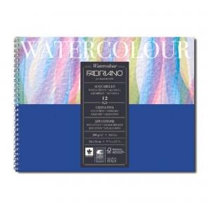 Bloc Acuarela Watercolour 34X32 cm 300g/mp 12 coli Fabriano RFB4.173.124.32