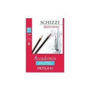 Bloc schite 29.7X42 cm 120g/mp 50 coli Accademia Fabriano RFB4.411.229.42