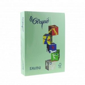 Carton A4 color 160gr/mp verde deschis Favini 107 A74P304