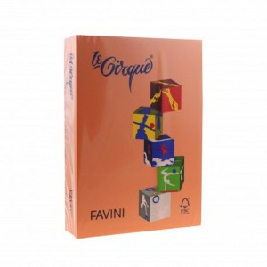 Carton A4 color 160Gr/mp portocaliu Favini A74E304