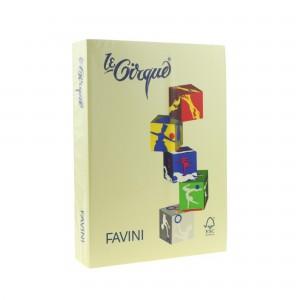Hartie A4 colorata 80gr /mp galben deschis Favini 100 A712504