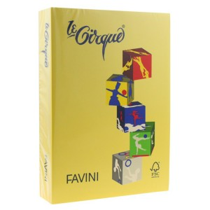 Carton A4 color Favini 160G/MP galben deschis FAV100