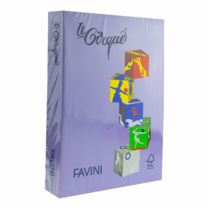 Carton A4 color 160Gr/mp mov  Favini 220 A74V304