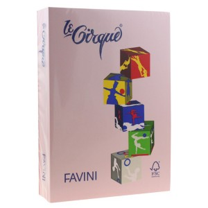 Carton A4 color Favini 160G/MP roz 108 10361