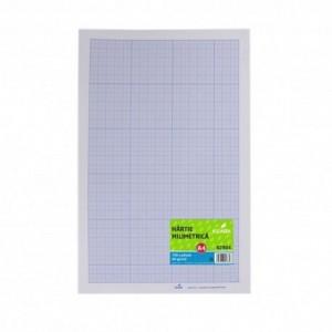 Hartie milimetrica A4 Ecada 62804