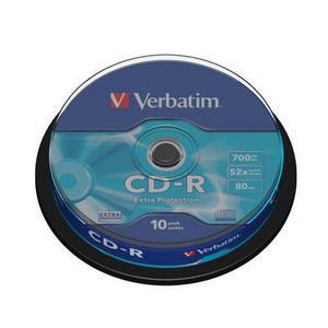 CD-R Verbatim 52X 10 bucati / box VER43437