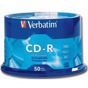 CD-R Verbatim 52X 50 bucati / box VER43351