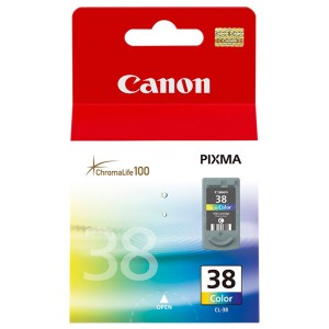 Cartus color Canon CL-38 9ML ORIGINAL IP1800