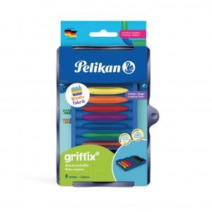 Creioane cerate griffix, in tavita pentru set Kreativfabrik, set 8, Pelikan 700825