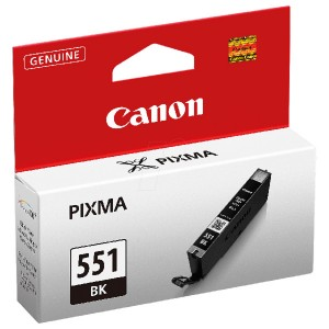Cartus negru Canon CLI-551XLBK 11ML ORIGINAL PIXMA IP7250