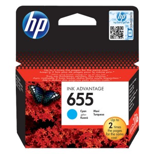 Cartus HP Deskjet cyan nr.655 CZ110AE ORIGINAL 3525 E-AIO CZ110AE