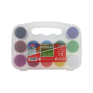 Culori acril Daco 12C 20ML CU320