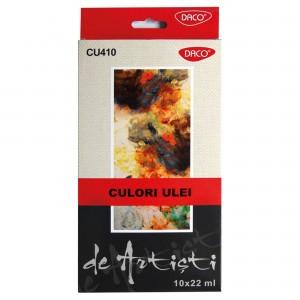 Culori ulei Artist 10 culori 22 ml Daco CU410