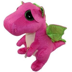 Plus TY 15CM dragon roz Darla TY37173