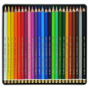 Set creioane Polycolor 24 culori cutie/metalica K3824-24