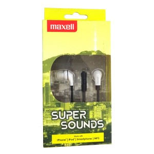 Casti Maxell super sounds 303733