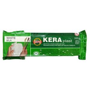 Plastilina modelaj Keraplast uscare rapida alba 300g K131708