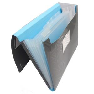Mapa A4 tip proiect Leitz gri/albastru deschis L39970089
