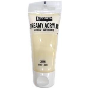 Acrylic color creamy semi-gloss 60ML Cream P27959