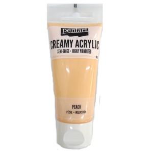 Acrylic color creamy semi-gloss 60ML Peach P27969