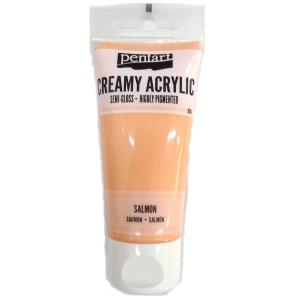 Acrylic color creamy semi-gloss 60ML Salmon P27967