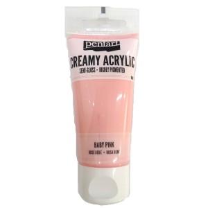 Acrylic color creamy semi-gloss 60ML Baby Pink P27971