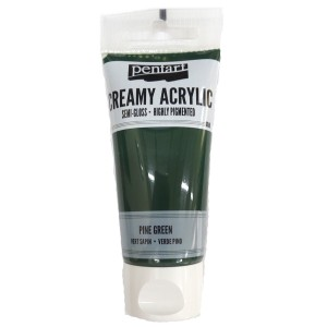 Acrylic color creamy semi-gloss 60ML Pine Green P27957