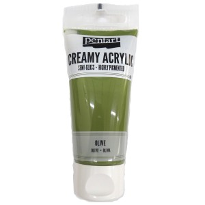 Acrylic color creamy semi-gloss 60ML Olive P27992
