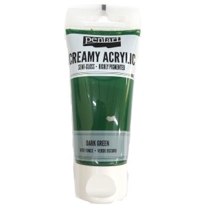 Acrylic color creamy semi-gloss 60ML Dark Green P27934