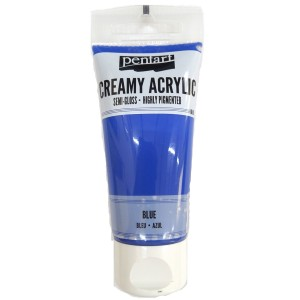 Acrylic color creamy semi-gloss 60ML Blue P27948