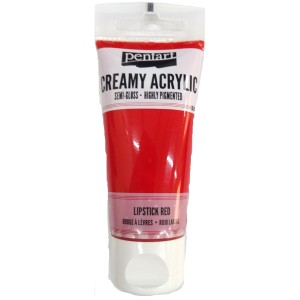Acrylic color creamy semi-gloss 60ML Lipstick Red P27961
