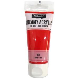 Acrylic color creamy semi-gloss 60ML Red P27939