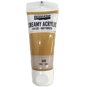 Acrylic color creamy semi-gloss 60ML Sand P27997