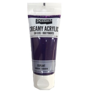 Acrylic color creamy semi-gloss 60ML Eggplant P27956