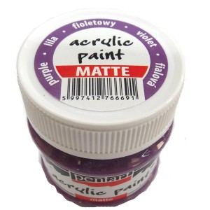 Culoare acrilica mata 50ML Purple P1309