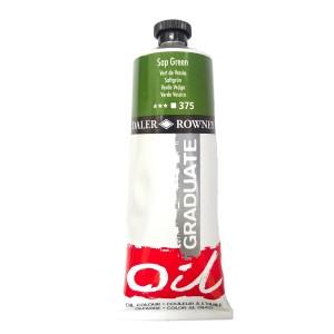Culoare ulei gradulata 200ML Sap Green 375 FL117200375