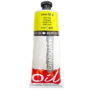 Culoare ulei gradulata 200ML Lemon Yellow 651 FL117200651
