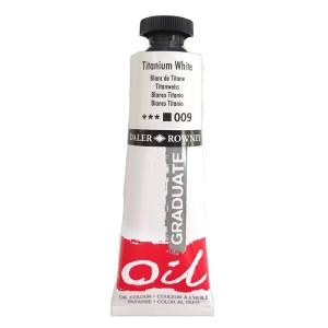 Culoare ulei graduata 38ML Titanium White 009 FL117038009
