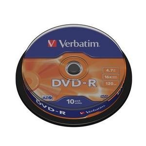 DVD-R Verbatim 4.7Gb 16X 10 bucati / box VER43523