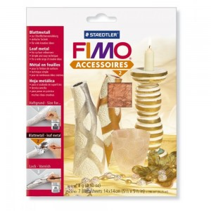Fimo foite metal cupru 14X14 cm, 7 Buc/Set STH-8780-26