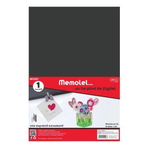 Folie A4 magnetica autoadeziva Memolel 10176