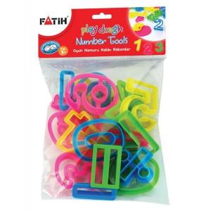 Forme modelat plastilina cifre Fatih 12558