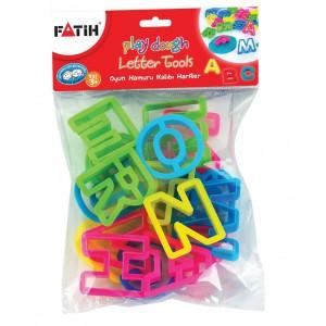 Forme modelat plastilina litere Fatih 50700