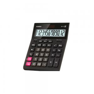 Calculator de birou Casio 12 digits, negru GR-12-W-EP