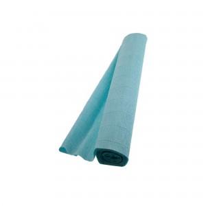 Hartie floristica albastru deschis 180g 50 x 250 cm IC-25