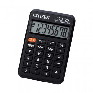 Calculator Citizen de buzunar 8 digiti LC110N