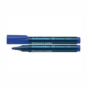 Marker permanent Schneider 130 1-3mm albastru 2926-3