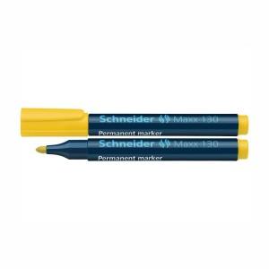 Marker permanent Schneider 130 1-3mm galben 2926-5