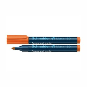 Marker permanent Schneider 130 1-3mm portocaliu 2926-6