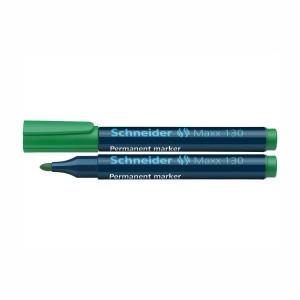 Marker permanent Schneider 130 1-3mm verde 2926-4